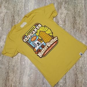 JOHNNY CUPCAKES NUTTER BUTTER 70S TEE SIZE M